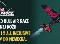 Hrajte o 12 All Inclusive zájazdov na preteky Red Bull Air Race