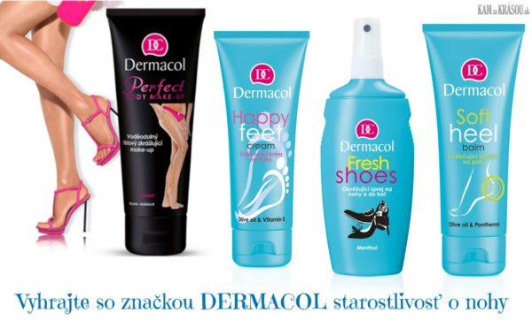 Hrajte o balíčky produktov pre dokonalé nohy od DERMACOL