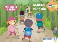 Súťaž Najkrajší výlet s deťmi s Protetikou