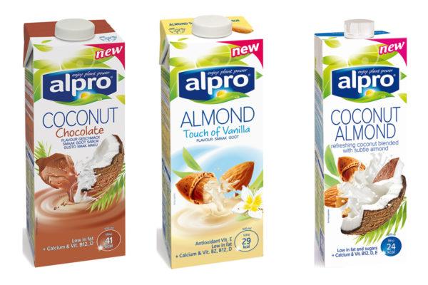Súťaž o 3 balíčky s novinkami Alpro