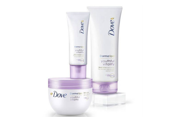Súťaž o balíček Dove DermaSpa rad Youthful Vitality