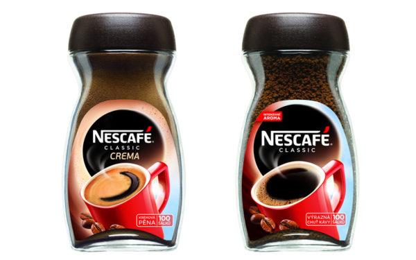 Súťaž o balíčky kávy Nescafé Classic a Nescafe Classic Crema