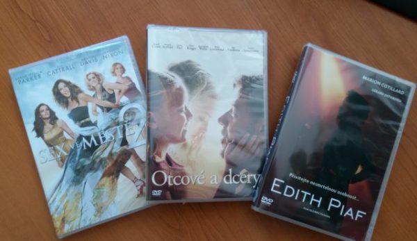Súťažte o skvelé DVD filmy