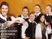 Súťaž o vstupenky na koncert Sašu Avsenika