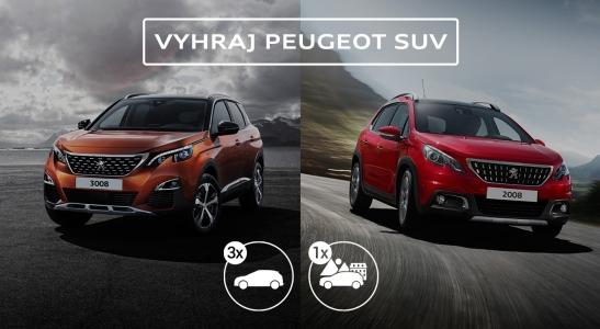Peugeot s plnou nádržou na víkend