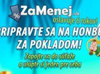 Veľká narodeninová súťaž ZaMenej.sk