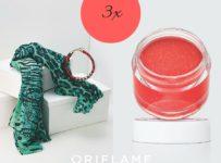 Vyhrajte 3 sady šálu, náhrdelníka a balzamu na pery od Oriflame