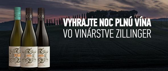 Vyhrajte noc plnú vína vo vinárstve Zillinger