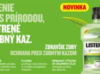 Vyhrajte ústnu vodu LISTERINE® GREEN TEA 500 ml
