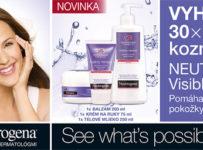 Vyhrajte jeden z 30 balíčkov kozmetiky NEUTROGENA® Nórska receptúra Visibly Renew