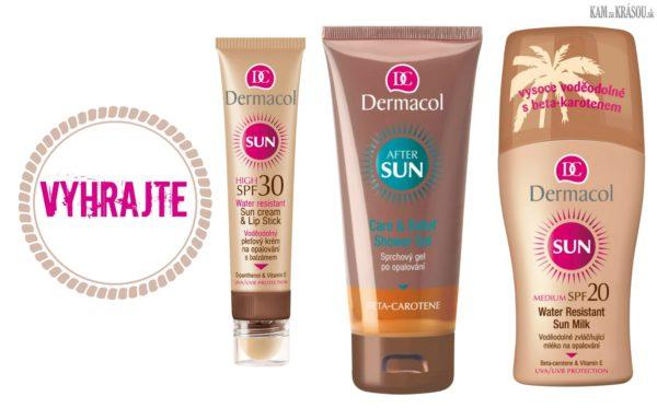 Hrajte o 3 balíčky slnečnej kozmetiky Dermacol v hodnote 17€