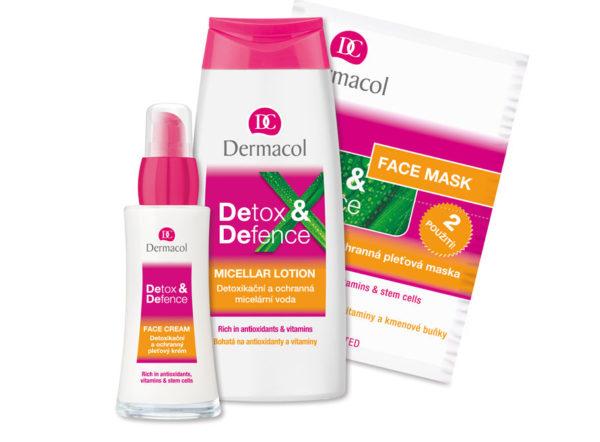 Súťaž Dermacol DETOX&DEFENCE