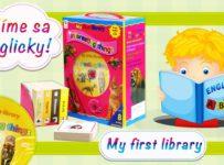 Súťaž o balík detských knižiek na výučbu angličtiny English is easy