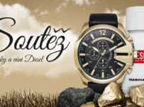 Soutěž o módní a stylové pánské hodinky Diesel spolu v sadě s vůní Diesel