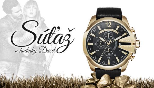 Vyhrajte pánske hodinky DIESEL