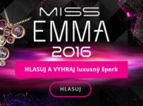 Dajte hlas svojej MISS EMMA 2016 a vyhraj luxusný šperk