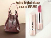 Hrajte o tri štýlové ruksaky a rúže od Oriflame!