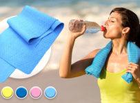 Súťaž o uterák s chladivým účinkom