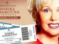 Súťažte o 64 lístkov pre 2 osoby na koncert Mariky Gombitovej!