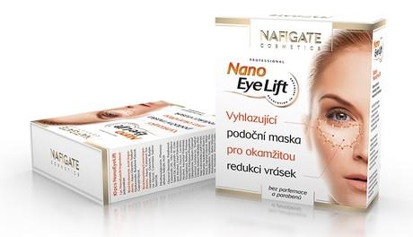 Soutěž o podoční masku NAFIGATE NANO EYE LIFT