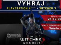 Vyhrajte PS4 spolu s hrou v hodnote 380 EUR