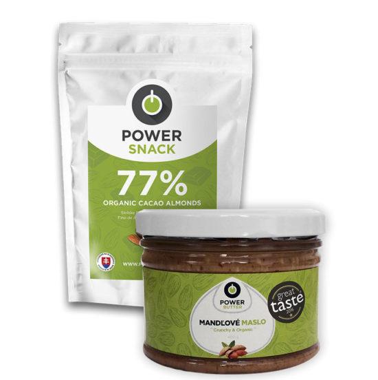Vyhrajte 3 balíčky Almond combo od Powerlogy
