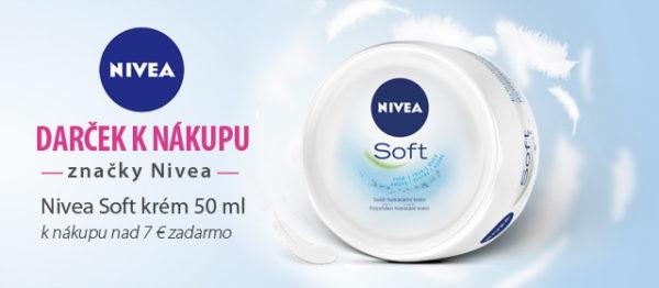 Darček k nákupu kozmetiky Nivea!