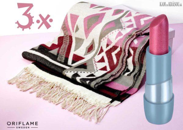 Hrajte o tri štýlové pončá a trendy rúže od Oriflame