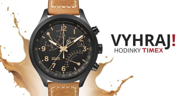 Podzimní soutěž o pánské stylové hodinky značky Timex 8c8ab390a21