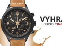 Podzimní soutěž o pánské stylové hodinky značky Timex