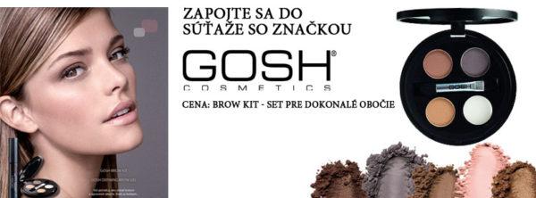 Súťaž Gosh Brown Kit