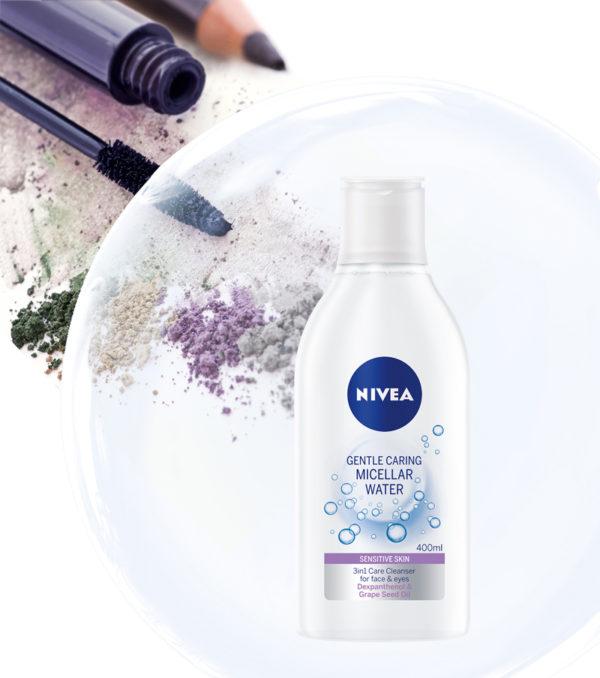 Súťaž o upokojujúcu micelárnu vodu NIVEA