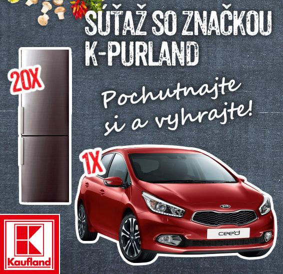 Súťaž so značkou K-Purland, hrajte o auto a kombinované chladničky!
