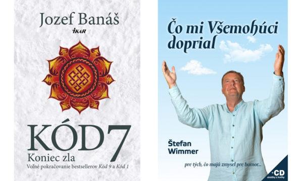 Súťažte o dve knižne novinky