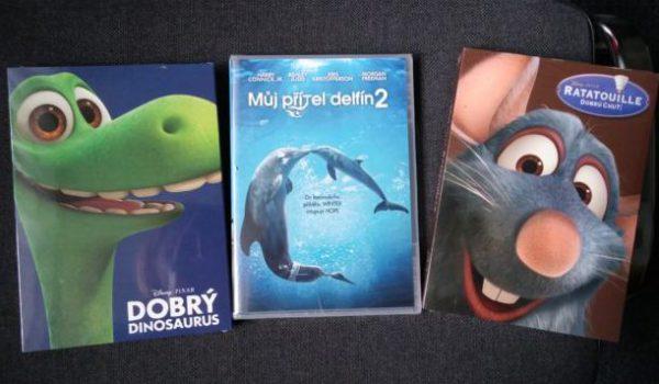 Súťažte o tri rozprávkové DVD
