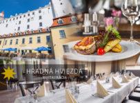 Súťaž o večeru v hodnote 50 € do reštaurácie Hradná Hviezda
