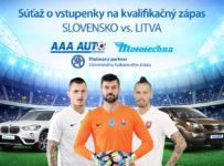 Vyhraj vstupenky na kvalifikačný zápas Slovensko vs. Litva!