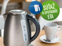 Vyhrajte rýchlovarnú kanvicu ETA a spolu s ňou aj ručný šľahač!