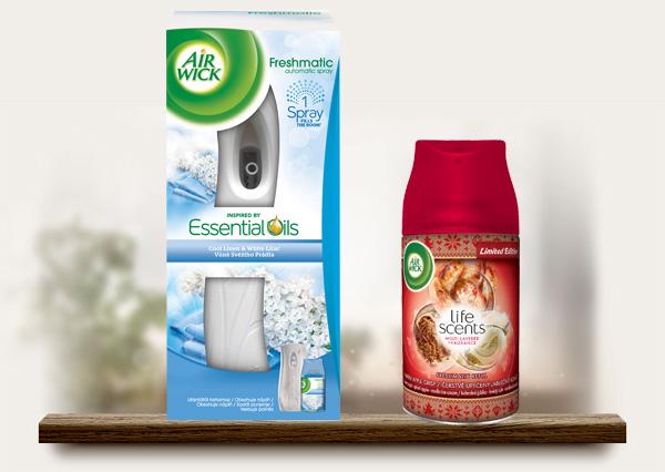 Vyhrajte Air Wick Freshmatic osviežovač vzduchu + náplň