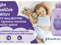 Vyhrajte 30x balíček výrobkov JOHNSON'S baby BEDTIME