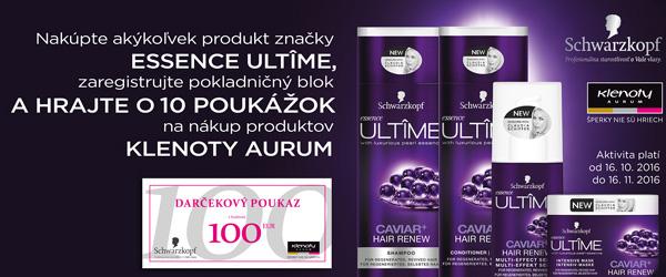 Hrajte o poukážky na nákup produktov Klenoty Aurum v hodnote 100 EUR!
