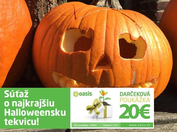 Súťaž o najkrajšiu Halloweensku tekvicu!