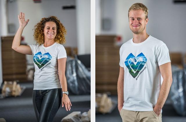 Limitovaná séria tričiek #ObjavteSlovensko z dielne ZľavaDňa