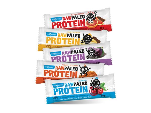 Vyhrajte 3 balíčky raw proteínových tyčiniek od Max Sportu