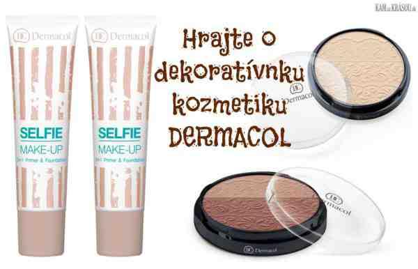 Hrajte o balíček dekoratívnej kozmetiky Dermacol v hodnote 16 €