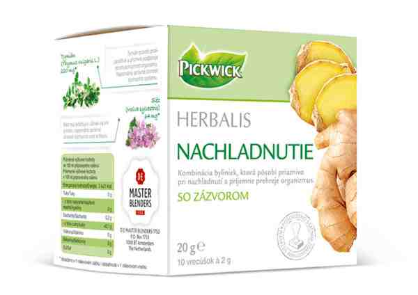 Vyhrajte jeden z piatich balíčkov čajov Pickwick Herbalis