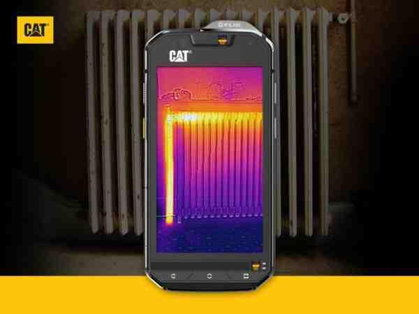 Súťaž o odolný smartfón CAT S60 vybavený termokamerou!