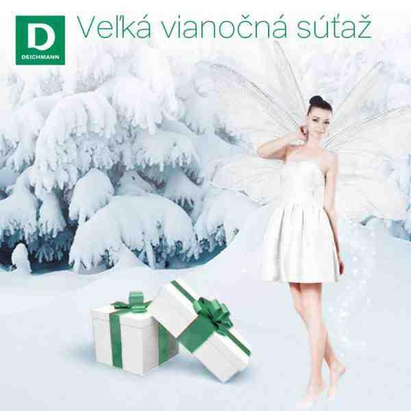 Veľká vianočná súťaž Deichmann