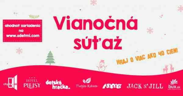 Vianočná súťaž sdeťmi.com 2016