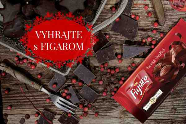 Vyhrajte čokolády Figaro a vyskúšajte chutné recepty!